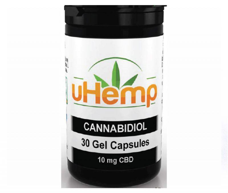 uHemp—SoftGel-capsules